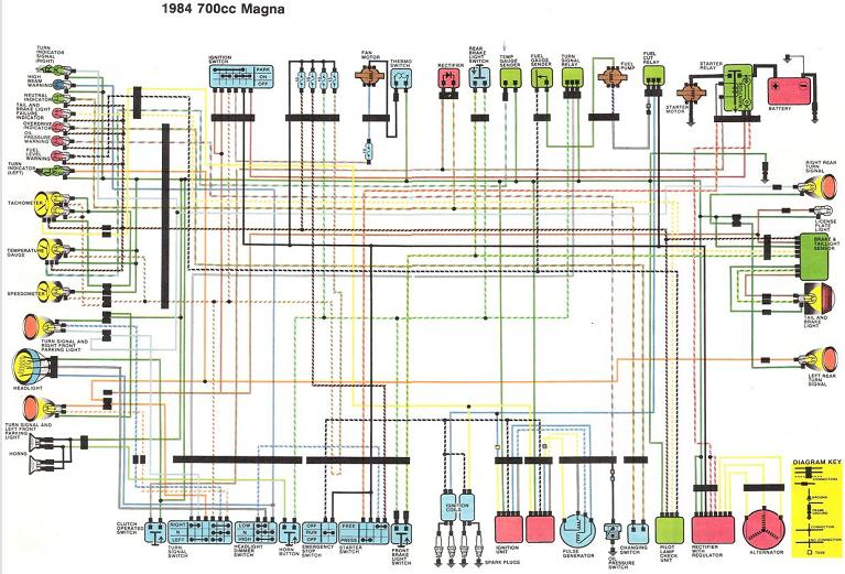 Honda Magna Wiring Diagram