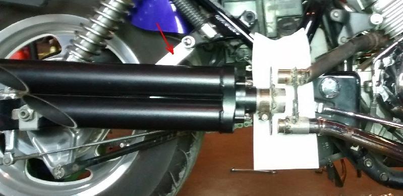 3rd Gen Magna exhaust mod - Toce exhaust on a Magna