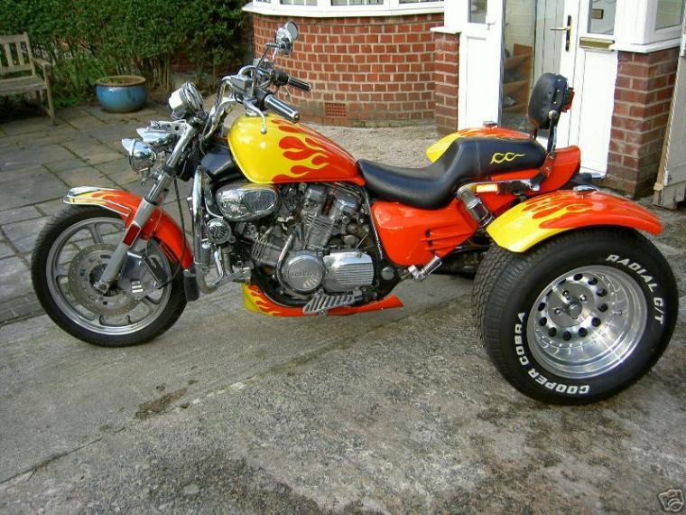 Rear end ideas for a shaft drive trike? - Page 2
