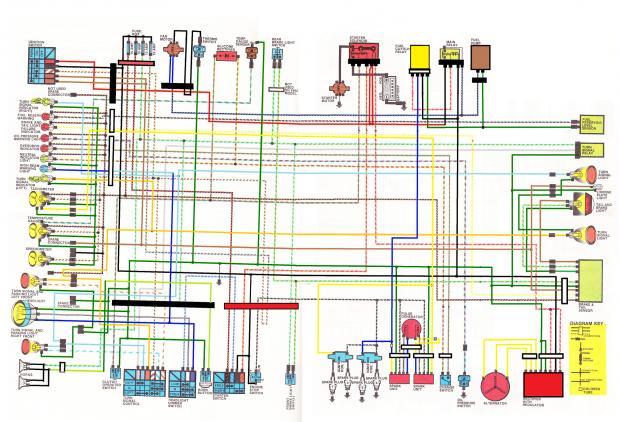 1985 goldwing wiring diagram 84 magna wiring diagram wiring diagrams show  84 magna wiring diagram wiring